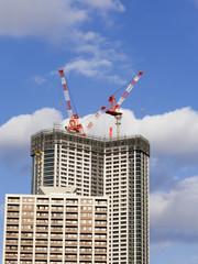 超高層ビル タワーマンション建設 イメージ