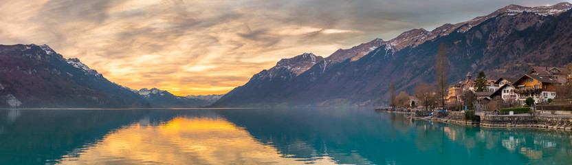 Sunset at Lake Brienz, Switzerland