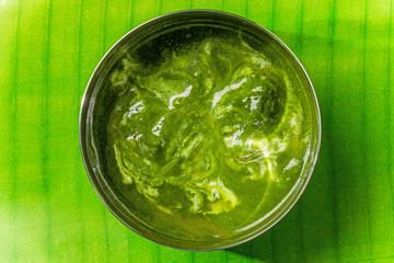 ほうれん草のカレー Curry of the spinach