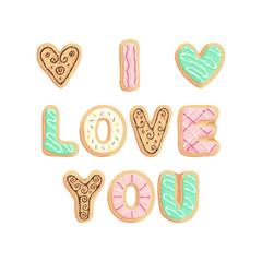 St Valentines cookies