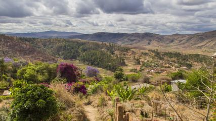 Antananarivo Madagascar landscape