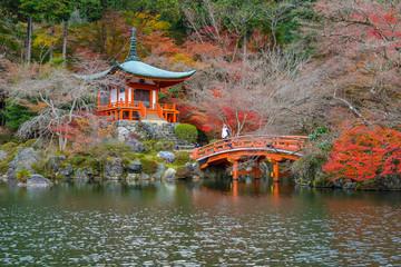 Daigoji Buddhist Temple in Kyoto, Japan