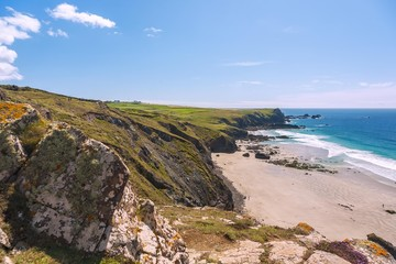 Fototapete - Cornwall, The Lizard, Kynance Cove