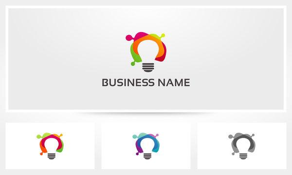 Lightbulb Color Logo
