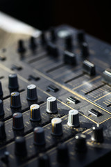 Sound mixer details