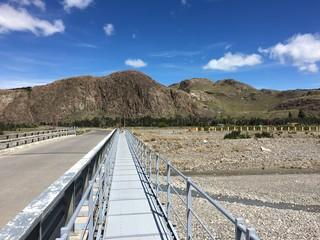 Bridge in El Chalten, Argentina
