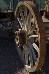 Antique wagon in Arizona