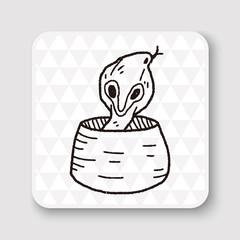 cobra doodle