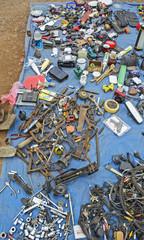 Old tools at flea markets