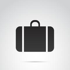 Travel, bag vector icon.