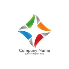 Elegant Line Logo Icon