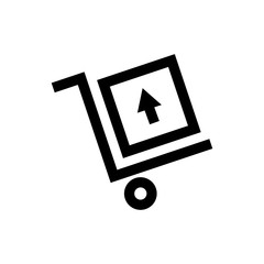 Free shipping, delivery  line icon