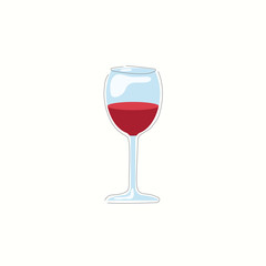 Wine vector illustration