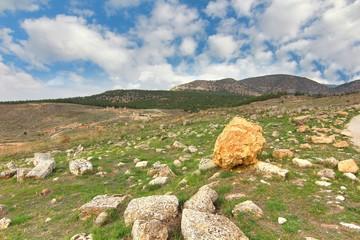 The ancient town Hierapolis, Turkey
