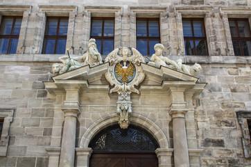 Old town hall of Nuremberg, Germany, 2015