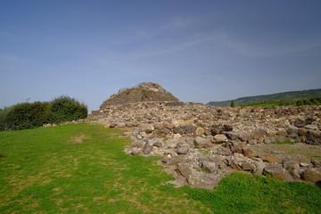 Su Nuraxi archaeological site in Barumini, Sardinia