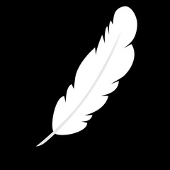 Vector feather icon