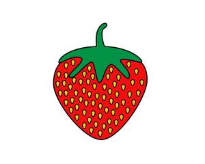 Delicious fruit strawberry