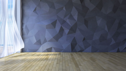 3Ds interior polygon wall