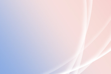 Simple abstract blurry Rose Quartz and Serenity colored background with white lines; desktop style. Soft pink and blue spring background, concept of colors.