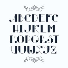 Elegant cute font