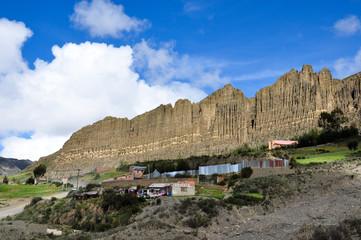 Wall Mural - Valle de las Animas, La Paz, Bolivia