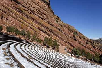 Red Rocks Park and Amphitheater in Denver, Colorado