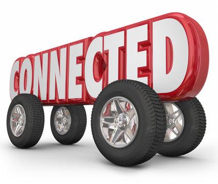 Connected Car Truck Vehicle Autonomous