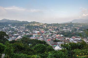 View over Ataco, El Salvador