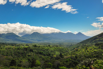 Various landscapes of El Salvador