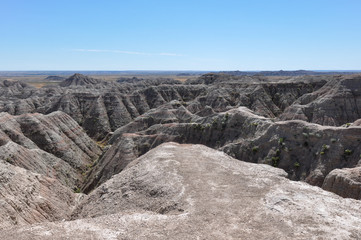 Fototapete - Badlands National Park, South Dakota, USA
