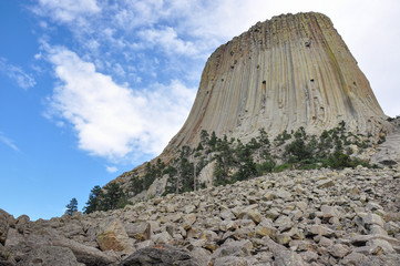 Fototapete - Devils Tower National Monument, Wyoming, USA