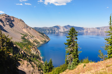 Fototapete - Crater Lake National Park, Oregon, USA