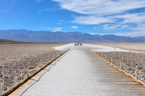 Fototapete Badwater Basin, Death Valley National park, California, USA