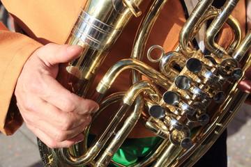 suonatore strumenti musicali