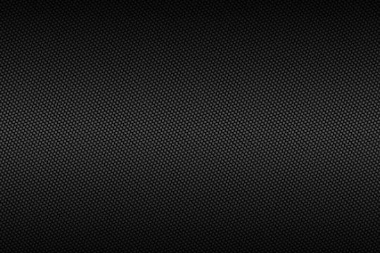 chrome carbon fiber with black gradient color, background and texture