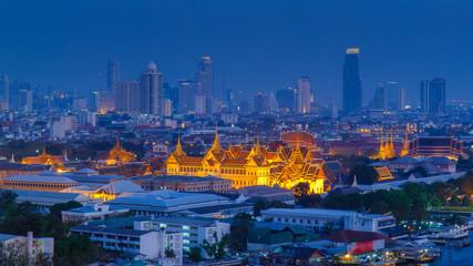 Keuken foto achterwand Bangkok Grand Palace at twilight Bangkok, Thailand