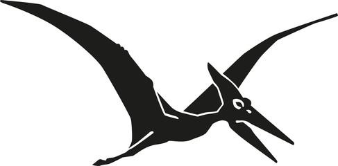Dinosaur pteranodon pterosaur