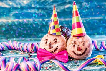 Faschings Clown Pfannkuchen