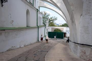 Kiev Pechersk Lavra,the descent into the Lower Lavra
