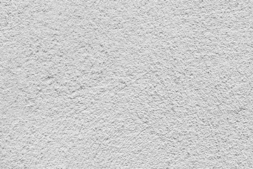 White wall with relief plaster, seamless background