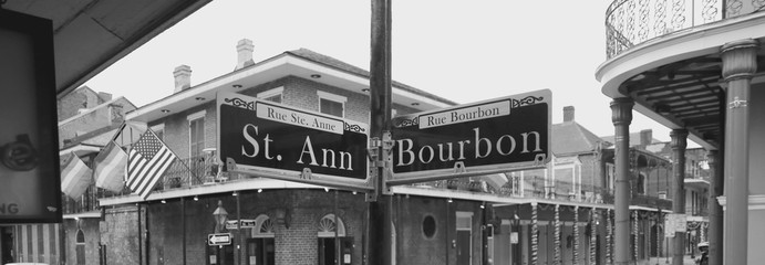 Bourbon street sing