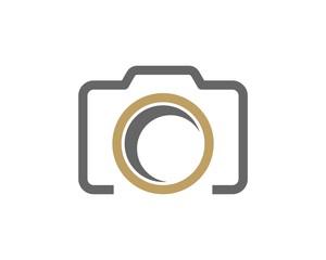 Simple Camera Photography Logo
