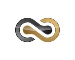 Gold Infinity Logo