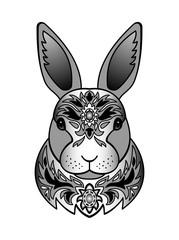Ornamental Black Rabbit