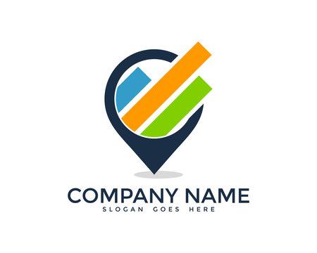 Stats Point Logo Design