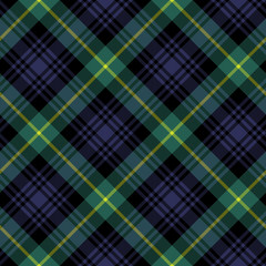 gordon tartan fabric textile check pattern seamless