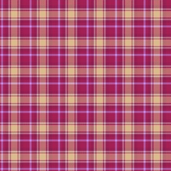 Seamless traditional Scottish coloured tartan fabric / cloth background or texture