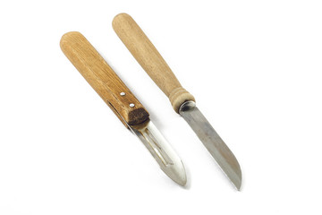 Kitchen knife and peeler