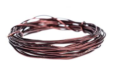 a coil of copper wire